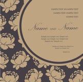Wedding invitation vintage cards Stock Image