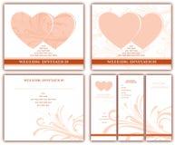 Wedding invitations Stock Image
