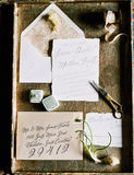 Wedding Invitations royalty free stock photos