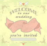 Wedding invited Stock Photos