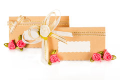 Wedding ivitation card Royalty Free Stock Images