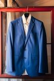 Wedding jacket of the groom Stock Photography