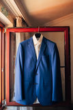 Wedding jacket of the groom Royalty Free Stock Images