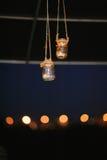 Wedding Jar Decor Royalty Free Stock Photos