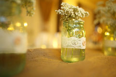 Wedding jar Royalty Free Stock Photography