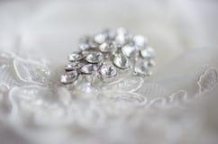 Wedding jewelery with diamond Royalty Free Stock Image