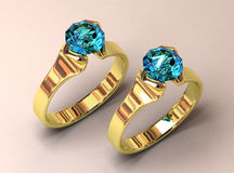 Wedding Jeweller Royalty Free Stock Photography