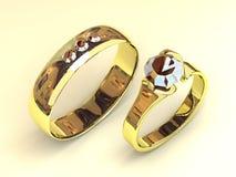 Wedding jeweller Royalty Free Stock Image
