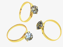 Wedding jeweller ornament Stock Photo