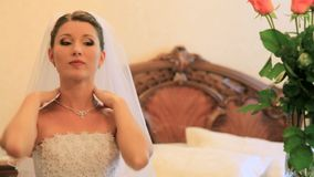 Wedding Jewelry stock video footage