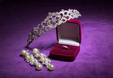 Wedding jewelry Stock Image