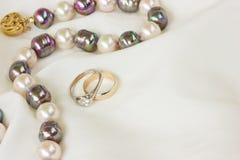 Wedding jewels Royalty Free Stock Photo