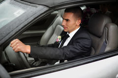 Wedding. Just Married. Royalty Free Stock Photo