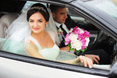 Wedding. Just Married. Royalty Free Stock Image