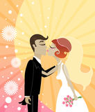 Wedding Kiss Stock Photos