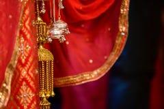 Hindu Wedding Knot stock images