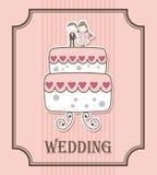 Wedding label Royalty Free Stock Photo