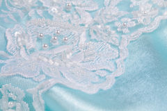 Wedding lace Stock Photography