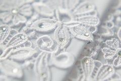 Wedding lace background royalty free stock image