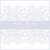 Wedding Lace card Stock Photo
