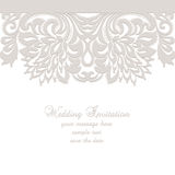 Wedding Lace card Stock Images