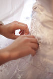 Wedding lacing Stock Photos