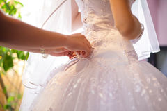 Wedding lacing Royalty Free Stock Images