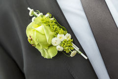 Wedding lapel Stock Photos