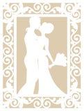 Wedding Laser Cut Royalty Free Stock Photo
