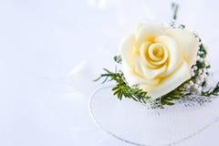 Wedding levantou-se imagens de stock royalty free