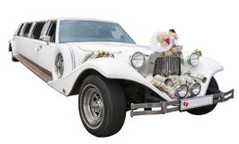 Wedding Limousine Royalty Free Stock Photo