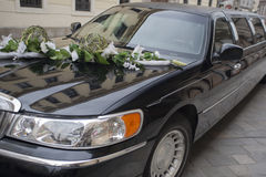Wedding Limousine Stock Images