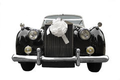 Wedding limousine, old car Royalty Free Stock Photo