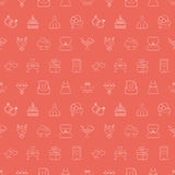 Wedding line pattern icon Stock Image