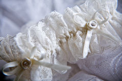 Wedding lingerie Stock Photos