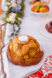 Wedding loaf of bread and salt Royalty Free Stock Photos