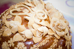 Wedding loaf Stock Images