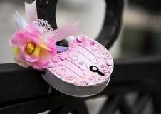 Wedding Lock Royalty Free Stock Photography