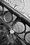 Wedding lock Stock Photo