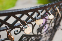 Wedding locks Stock Images
