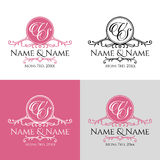 Wedding logo2 Stock Photo