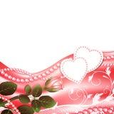 Wedding love frame Stock Images