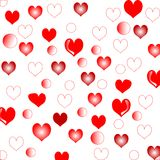 Wedding love hearts background royalty free stock photo