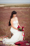 Wedding and love story in nature Royalty Free Stock Images