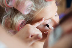 Wedding make up Royalty Free Stock Photography