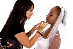 Wedding make-up Royalty Free Stock Images