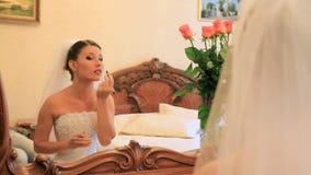 Wedding Make-Up stock video