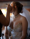 Wedding makeup Stock Photography