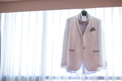 Wedding man suit Stock Images
