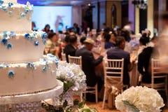 Wedding many layers Cake put in ceremony Round